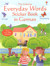 Everyday Words In German Sticker Book