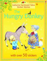 Usborne Farmyard Tales Sticker Stories The Hungry Donkey