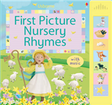 First Picture Nursery Rhymes: Sound Book