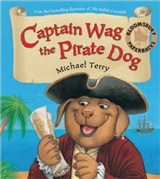 Captain Wag the Pirate Dog