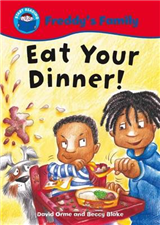 Start Reading: Freddy\'s Family: Eat Your Dinner!
