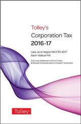 Tolley\'s Corporation Tax 2016-17 Main Annual