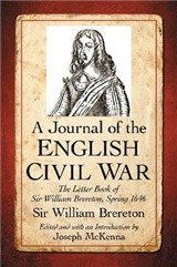 A Journal of the English Civil War: The Letter Book of Sir William Brereton, Spring 1646