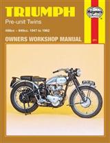 Triumph Pre-unit Construction Twins Owner\'s Workshop Manual