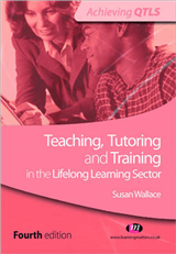 Teaching, Tutoring and Training in the Lifelong Learning Sec