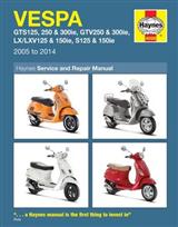 Vespa Gts, Gtv, Lx & S 125 To 300 05 - 14