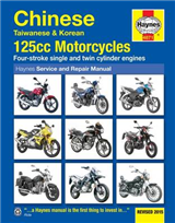Chinese, Taiwanese & Korean 125CC Motorcycles Service and Re