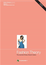 Fashion Theory: The Journal of Dress, Body and Culture: Volume 16, Issue 2