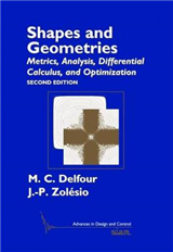 Shapes and Geometries: Metrics, Analysis, Differential Calculus, and Optimization