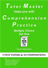 Tutor Master Helps You with Comprehension Practice