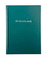 The Birthday Book (Dark Green Cover)