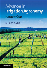 Advances in Irrigation Agronomy: Plantation Crops