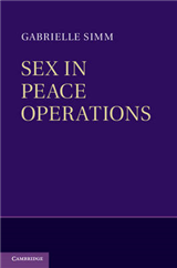 Sex in Peace Operations