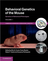 Behavioral Genetics of the Mouse: Volume 1, Genetics of Behavioral Phenotypes