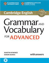Grammar and Vocabulary for Advanced Book with Answers and Au