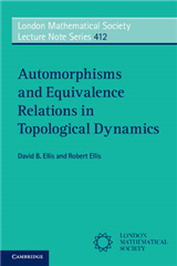 Automorphisms and Equivalence Relations in Topological Dynamics