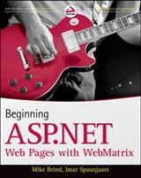 Beginning ASP.NET Web Pages with WebMatrix