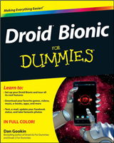 Droid Bionic For Dummies