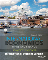 International Economics: Trade and Finance