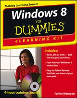 Windows 8 eLearning Kit For Dummies