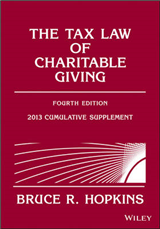 The Tax Law of Charitable Giving: 2013