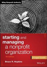 Starting and Managing a Nonprofit Organization