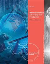 Macroeconomics: A Contemporary Approach, International Edition