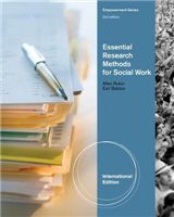 Essential Research Methods for Social Work, International Edition