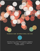 Introductory and Intermediate Algebra: Pearson New International Edition