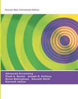 Advanced Accounting: Pearson New International Edition