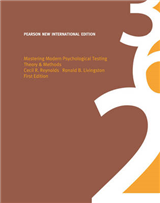 Mastering Modern Psychological Testing: Pearson New International Edition: Theory & Methods