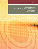 Business Statistics: Pearson New International Edition