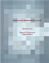 Business Law: Pearson New International Edition