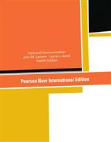 Technical Communication: Pearson New International Edition