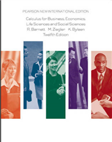 Calculus for Business, Economics, Life Sciences and Social Sciences: Pearson New International Edition