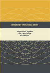 Intermediate Algebra: Pearson New International Edition