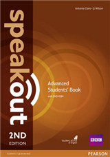 Speakout Advanced 2nd Edition Students' Book and DVD-ROM Pac
