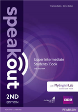 Speakout Upper Intermediate 2nd Edition Students\' Book with DVD-ROM and MyEnglishLab Access Code Pack