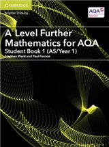 A Level Further Mathematics for AQA Student Book 1 (AS/Year