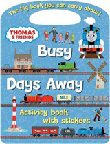 Thomas & Friends Busy Days Away Activity Book