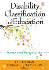 Disability Classification in Education: Issues and Perspectives