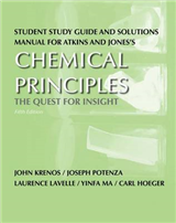 Study Guide/Solution Manual for Chemical Principles