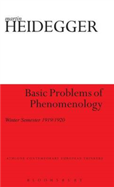 Basic Problems of Phenomenology: Winter Semester 1919/1920
