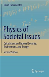 Physics of Societal Issues: Calculations on National Security, Environment, and Energy