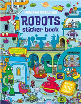 Robots Sticker Book
