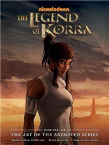 Legend Of Korra, The: The Art Of The Animated Series Book On