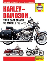 Harley Davidson Twin Cam 88, 96 & 103 Service and Repair Man