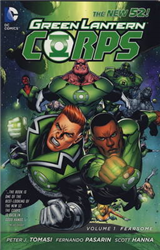 Green Lantern Corps: v. 1: Fearsome