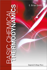Basic Chemical Thermodynamics 6th Edition