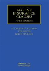 Marine Insurance Clauses